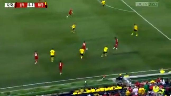 Liverpool skill video Oxlade-Chamberlain Dortmund Alex