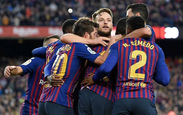 Italian and English giants ready to meet Barcelona's £35m asking price for Ivan Rakitic in January