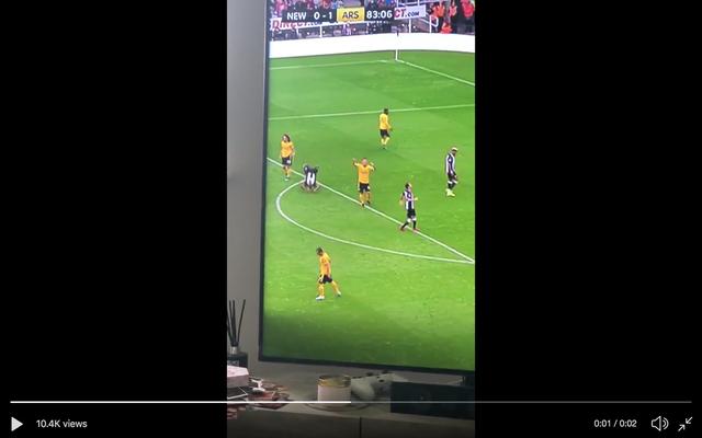 vs Video: Arsenal shows off Newcastle