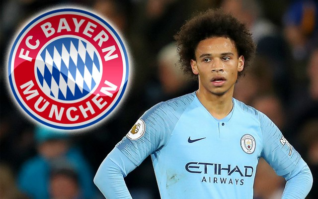 Bayern Munich Agrees £54.8m To Sign Leroy Sane From Manchester City