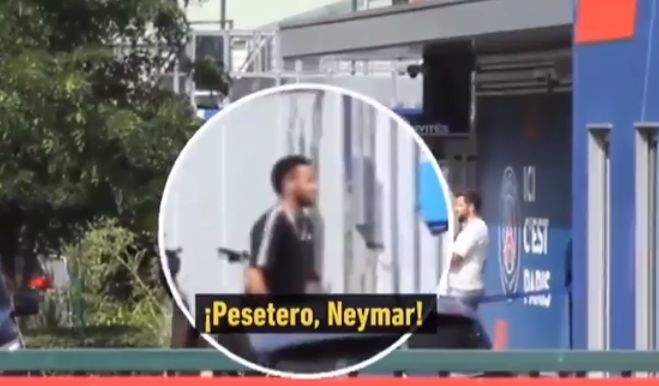 Video: Neymar called a 'money grabber' by PSG staff member | CaughtOffside