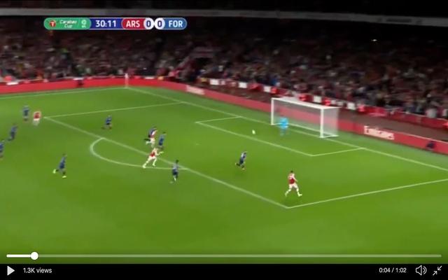 Video: Martinelli's first Arsenal goal a superb header vs
