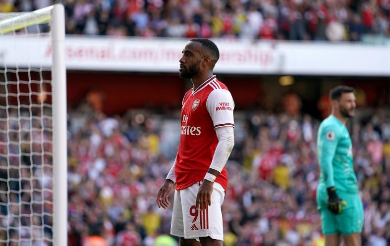 alexandre lacazette arsenal vs tottenham