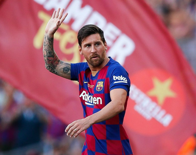 competitive price 8a89e 7a2db Lionel Messi ruled out of Barcelona vs Valencia with injury
