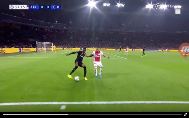 Video: Chelsea's Tomori 'ends Ziyech's career' with silky turn