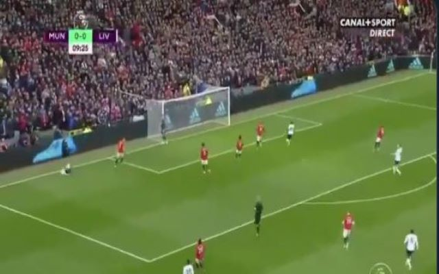 Video Roberto Firmino Miss Man United Vs Liverpool