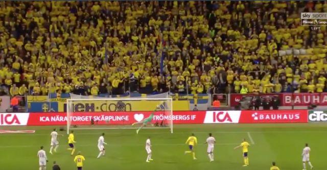Video: Man United's David De Gea pulls off insane save to deny Sweden vs Spain in Euro 2020 qualifier