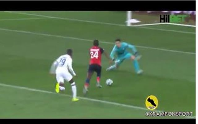 Video: Kepa mistake and save Lille vs Chelsea