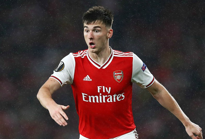 tierney in action for arsenal