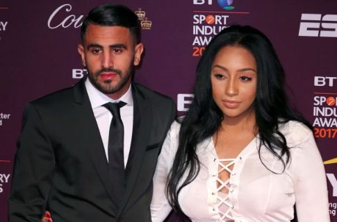 Report claims Mahrez's wife flirted with Anthony Joshua in ...