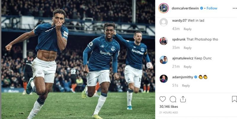 Photo Dominic Calvert Lewis Enhances Instagram Celebration