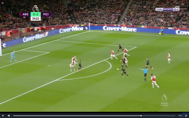 Video: De Bruyne scores superb goal for Man City vs Arsenal