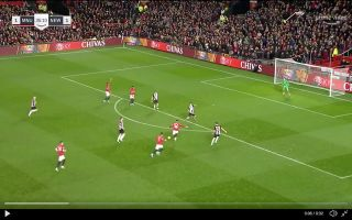 Video Greenwood Scores Rocket For Man United Vs Newcastle
