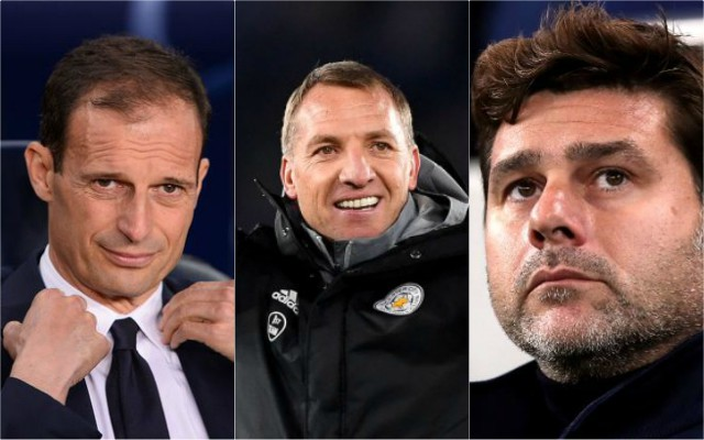 Allegri-rodgers-pochettino-arsenal