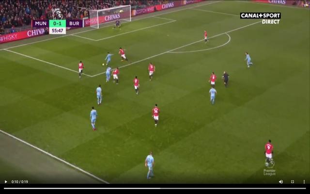 Video: Rodriguez scores fine goal for Burnley vs Man United