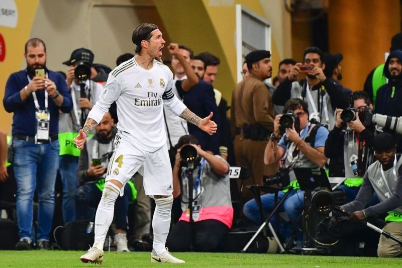 Sergio-Ramos-celebrates-for-Real-Madrid