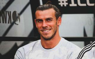 Gareth Bale laughing and smiling