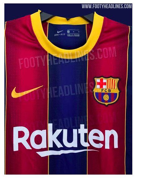 leaked barcelona home kit for 2020 21 leaked barcelona home kit for 2020 21