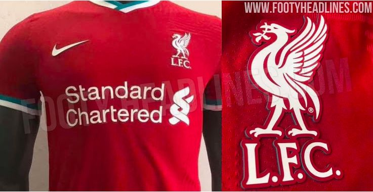 Liverpool 2020 21 Home Kit Pictures