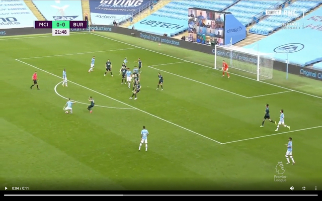 Video: Foden's screamer to give Man City lead vs Burnley