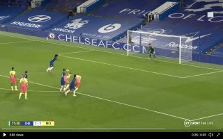 Willian scores superb penalty for Chelsea vs Man City