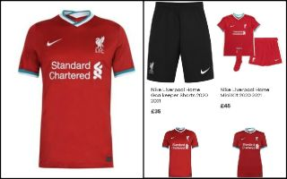 venganza Estresante Definitivo  Photos) Liverpool's first Nike home kit and price leaked