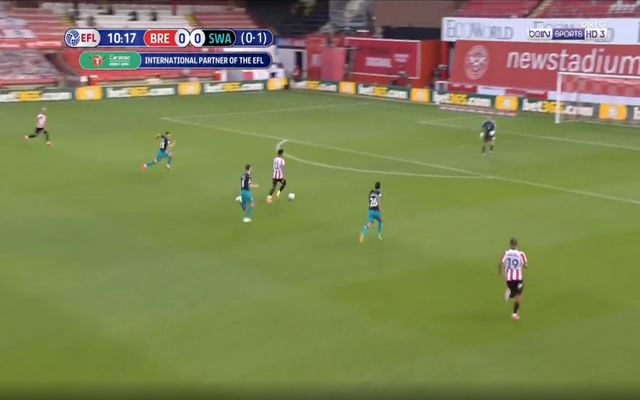 Video: Ollie Watkins scores to draw Brentford level vs Swansea