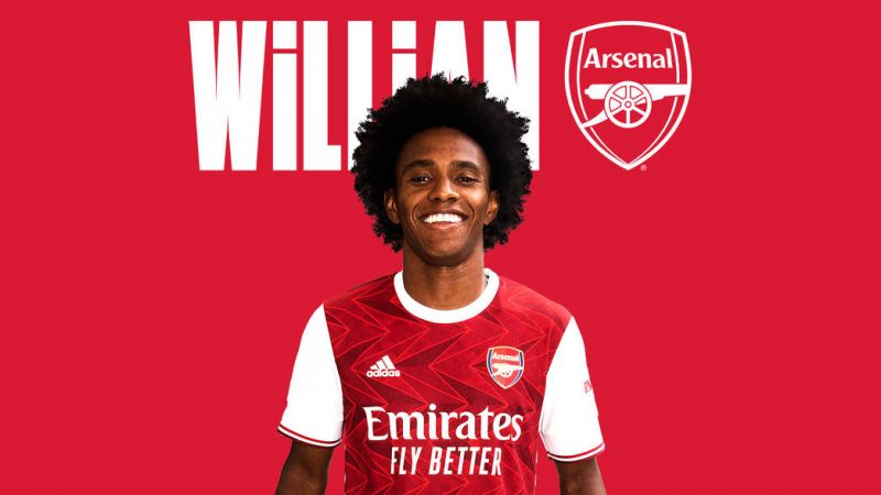 Confirmed Arsenal Announce Willian Signing Shirt Number