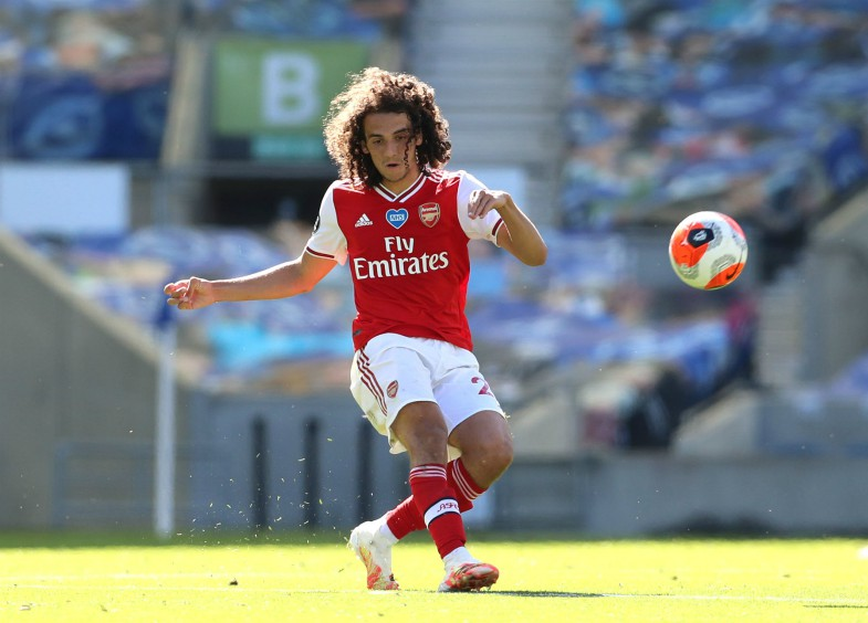 arsenal youngster guendouzi