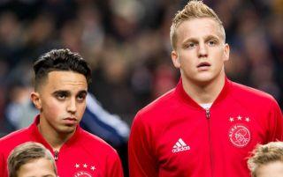 Van De Beek 34 Shirt At Man United In Nouri Tribute