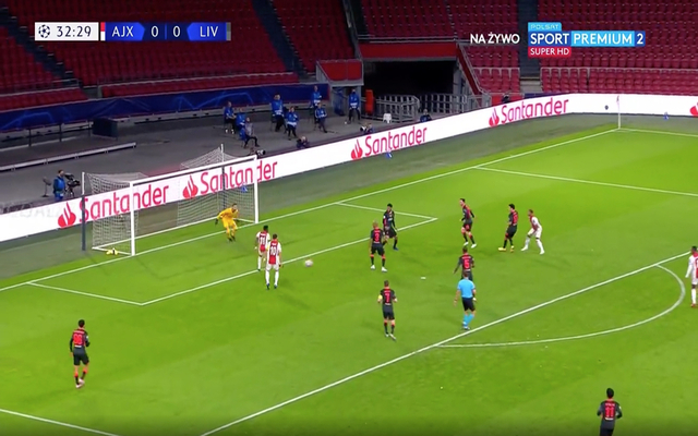 Video: Adrian denies Ajax vs Liverpool with stunning close ...