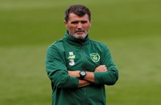 Roy Keane as Ireland assistant manager