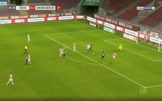 Video Awoniyi scores for Union Berlin vs Koln