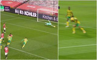 Video Fernandes scores penalty retake vs WBA