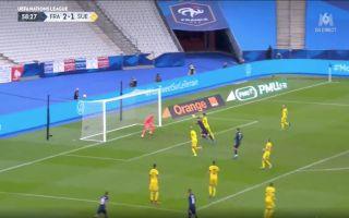 Video Giroud scored header vs Sweden