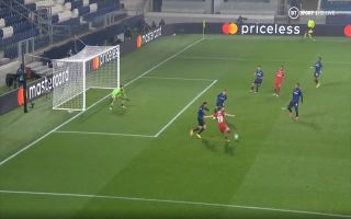 video jota gets second for liverpool vs atalanta with fine finish liverpool vs atalanta
