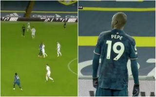 Video Pepe headbutt red card vs Leeds
