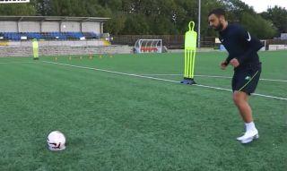 bruno fernandes penalty technique video