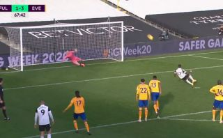 fulham awful penalty miss