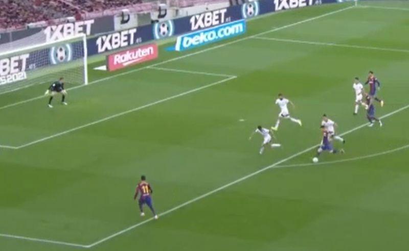 Messi goal video Barcelona vs Osasuna