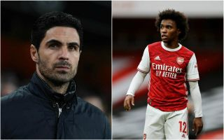 mikel arteta willian arsenal