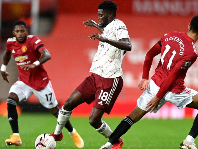 Thomas Partey Stats Arsenal Vs Man United