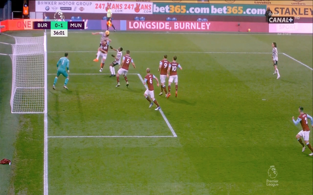 Video: Maguire sees goal disallowed for Man United vs Burnley