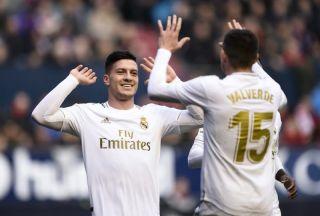 Video: Real Madrid loanee Jesus Vallejo sent off vs Barcelona