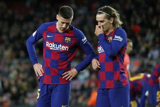 Griezmann and Lenglet for Barcelona -