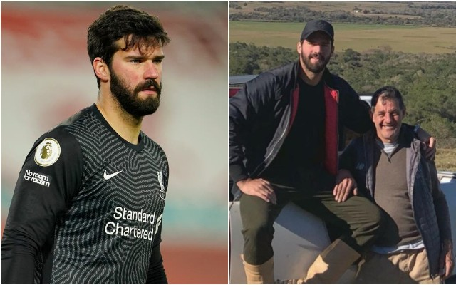 Liverpool goalkeeper Alisson dad dies aged 57 after drowning