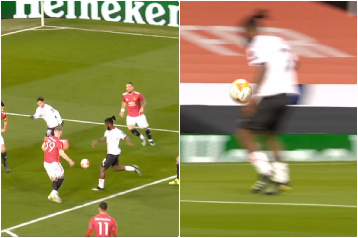 Video: Kessie volley against Man United disallowed by VAR
