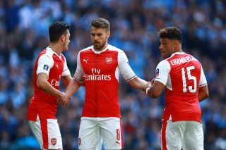 Ozil Ramsey and Oxlade Chamberlain for Arsenal | Últimas Noticias Futbol Mundial