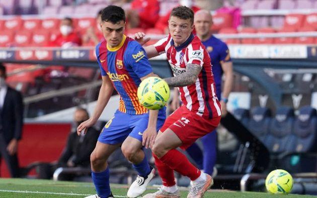 Trippier Atletico Madrid vs Barcelona