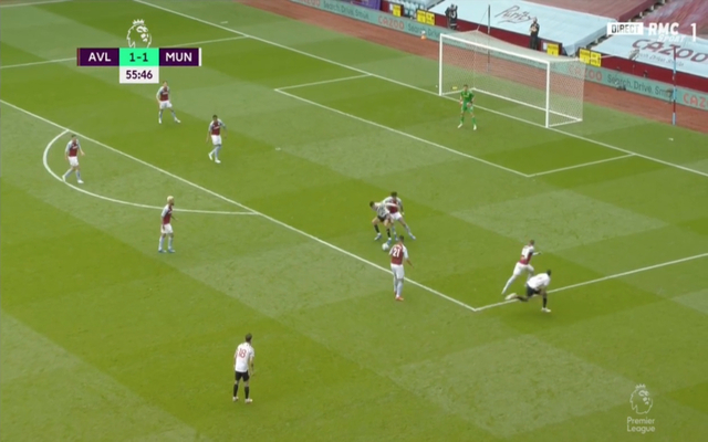 Video: Mason Greenwood fires Man United ahead after lovely turn leads to trademark ice-cold finish against Aston Villa